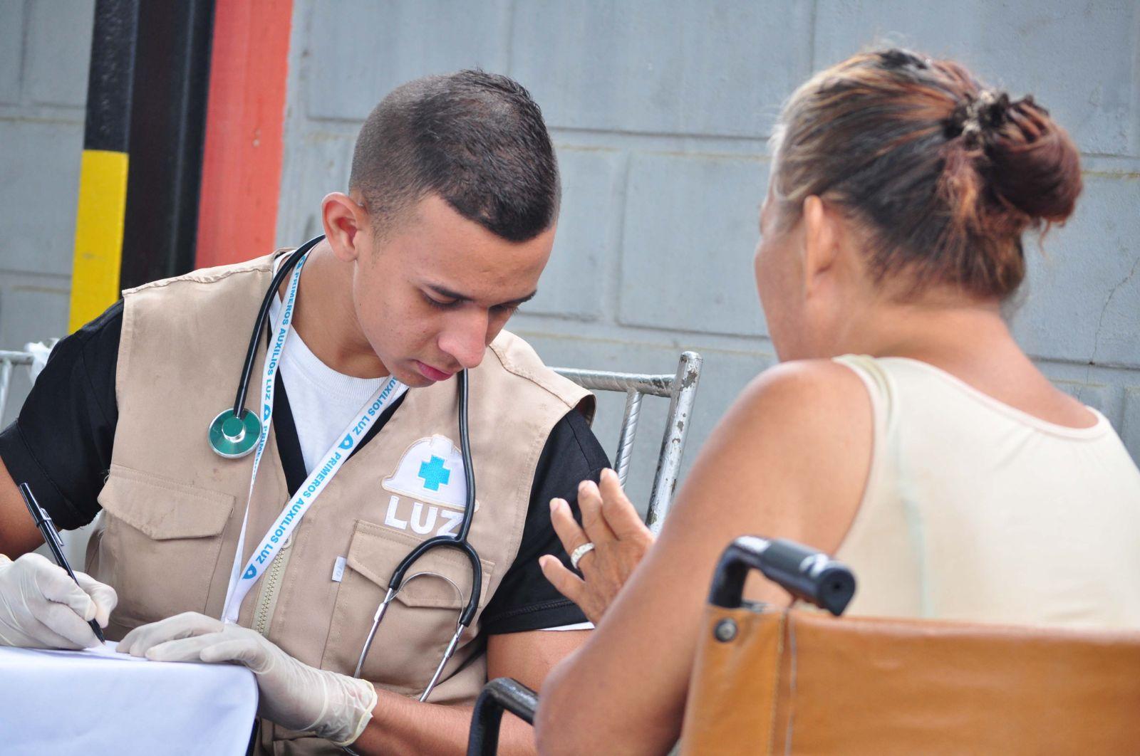 """Primeros Auxilios LUZ """"Dr. Paúl Moreno"""", la brigada zuliana convertida en puente humanitario"""