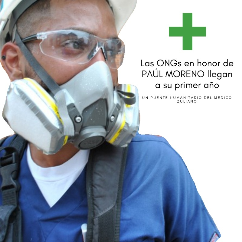 ONGs en honor a Paúl Moreno Camacho  cumplen primer año de labor humanitaria