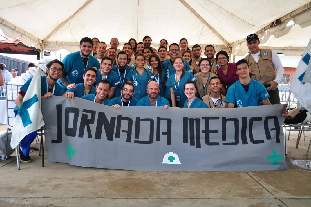 ONG´s Paúl Venezuela y Primeros Auxilios LUZ activan 1era jornada médica en alianza
