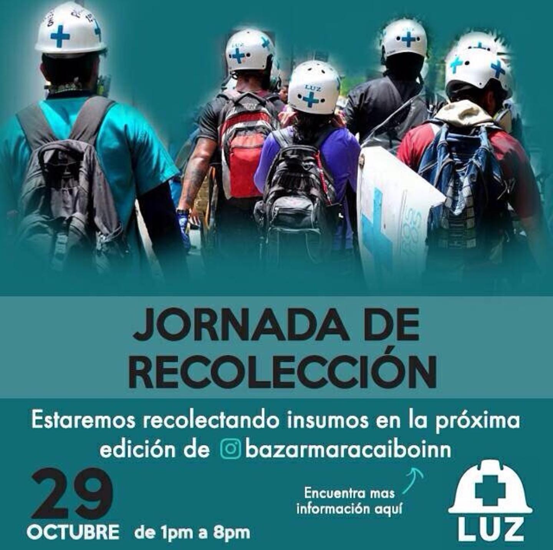 Primeros Auxilios LUZ recolectará medicamentos en el Bazar Maracaibo Innovador