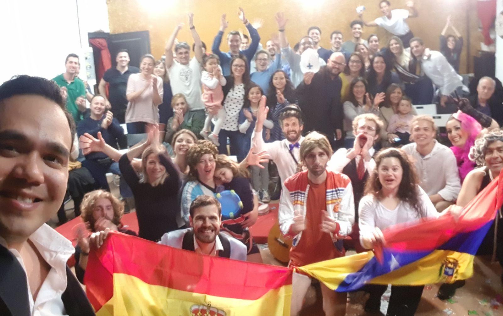 Brilla el teatro en Madrid por Paúl Venezuela