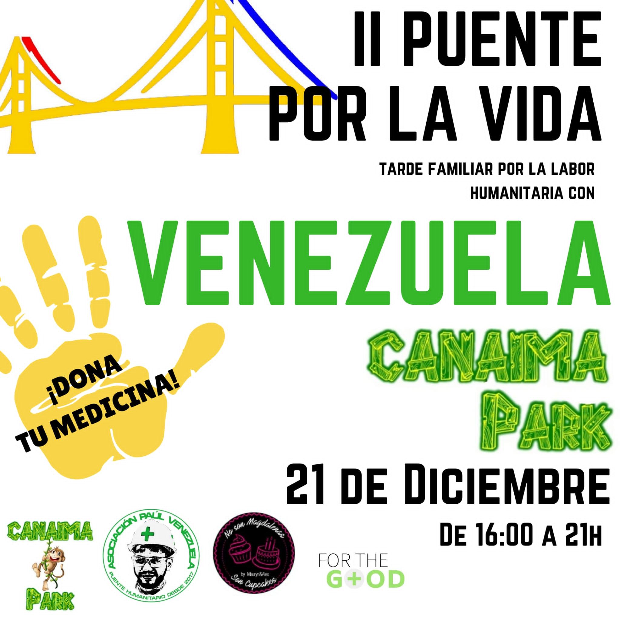 ONG Paúl Venezuela celebra el segundo Puente por la Vida