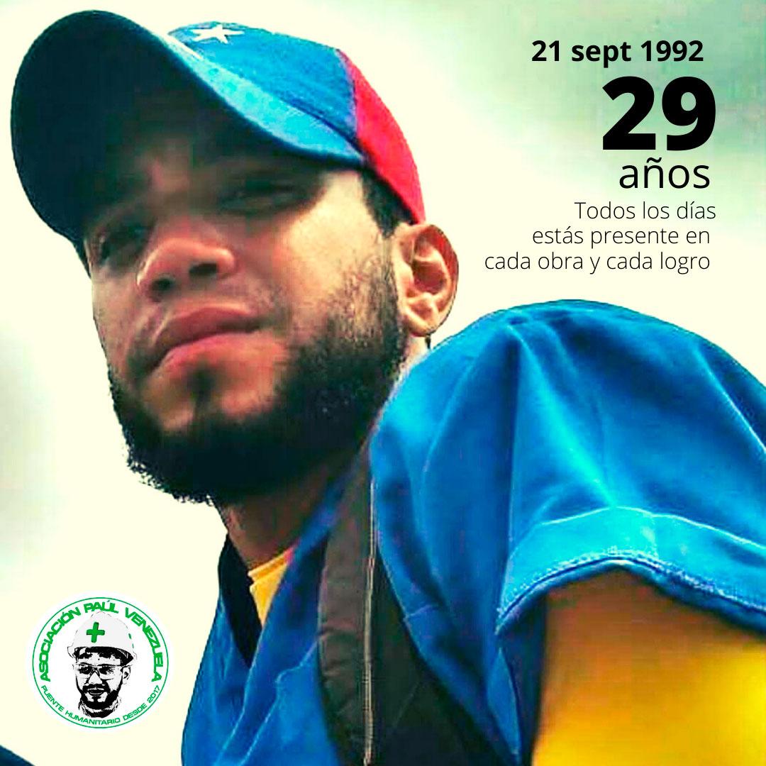 Conmemoramos un año más del nacimiento de Paúl Moreno